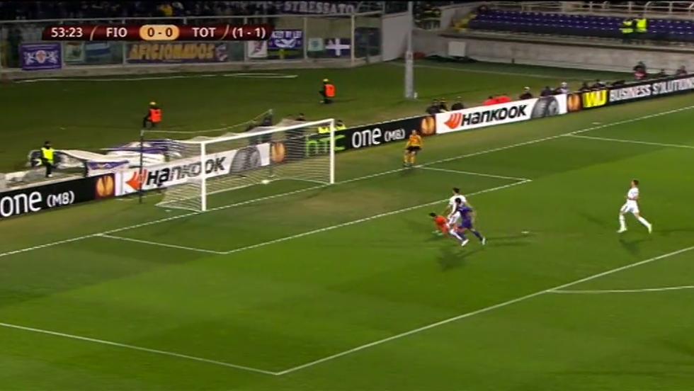 Fiorentina-Tottenham 2-0: le immagini