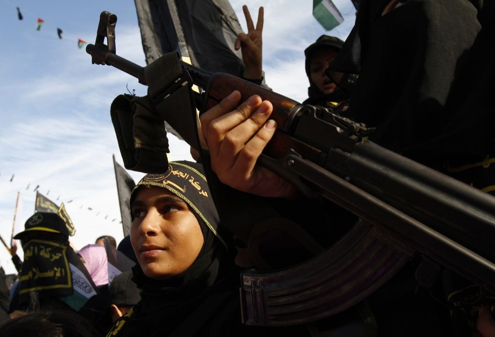 Le donne europee dell'Isis