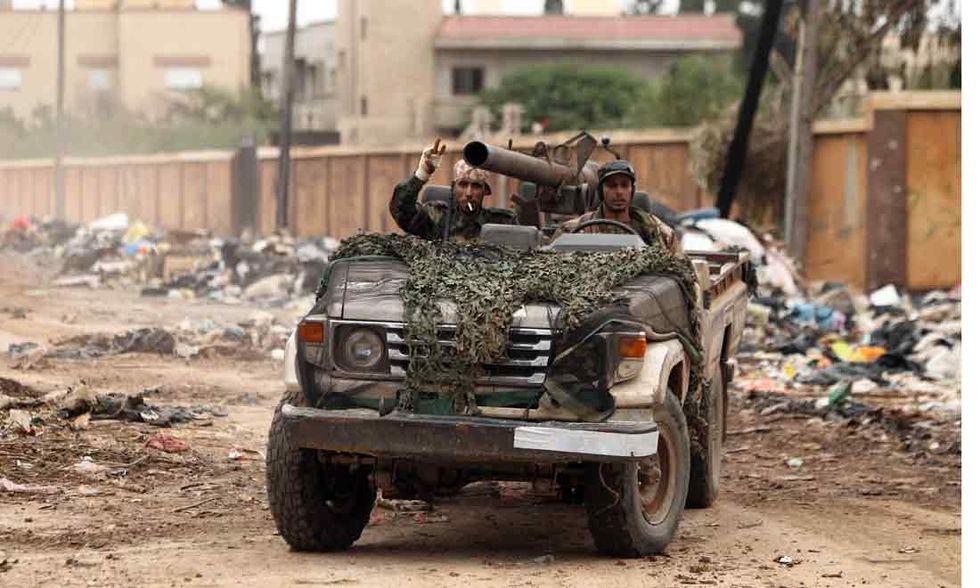 Libia: il rebus della fine dell'embargo sulle armi