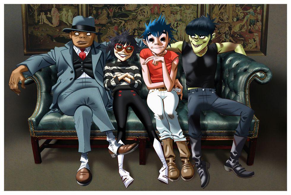 """Gorillaz: """"Humanz"""" segna il ritorno della band-fumetto"""