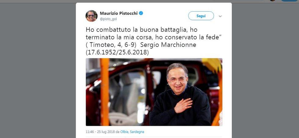 Addio a Sergio Marchionne, il cordoglio degli italiani