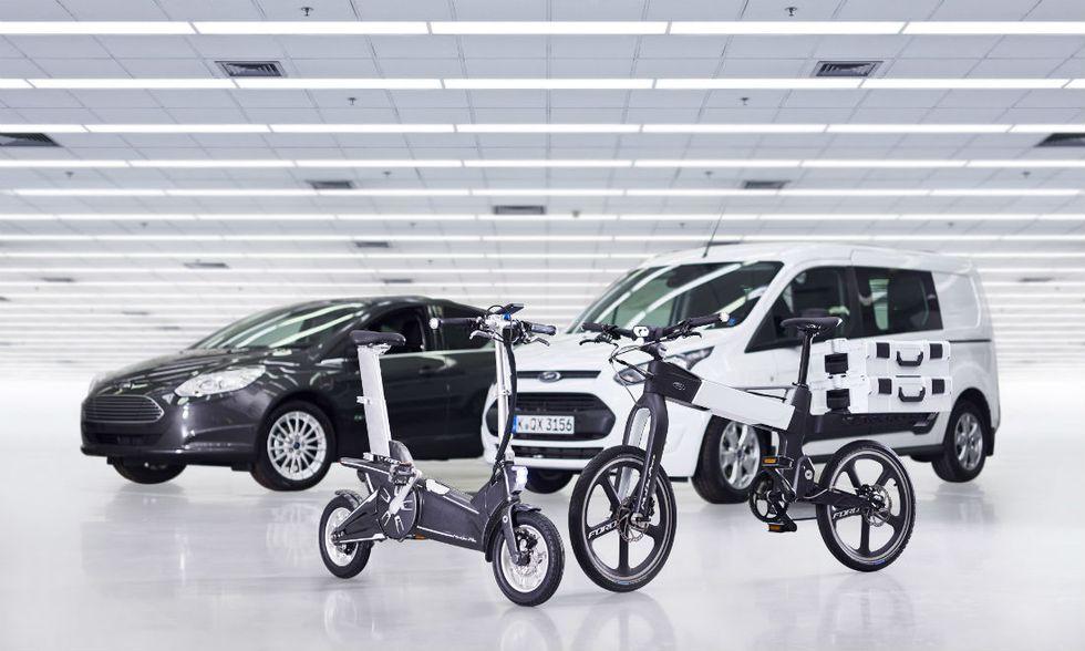 MoDe, ecco le biciclette smart di Ford