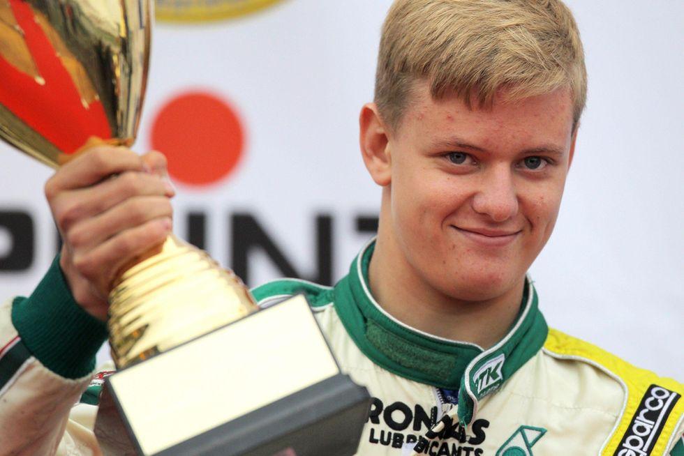 Schumacher Jr. all'esordio in Formula 4