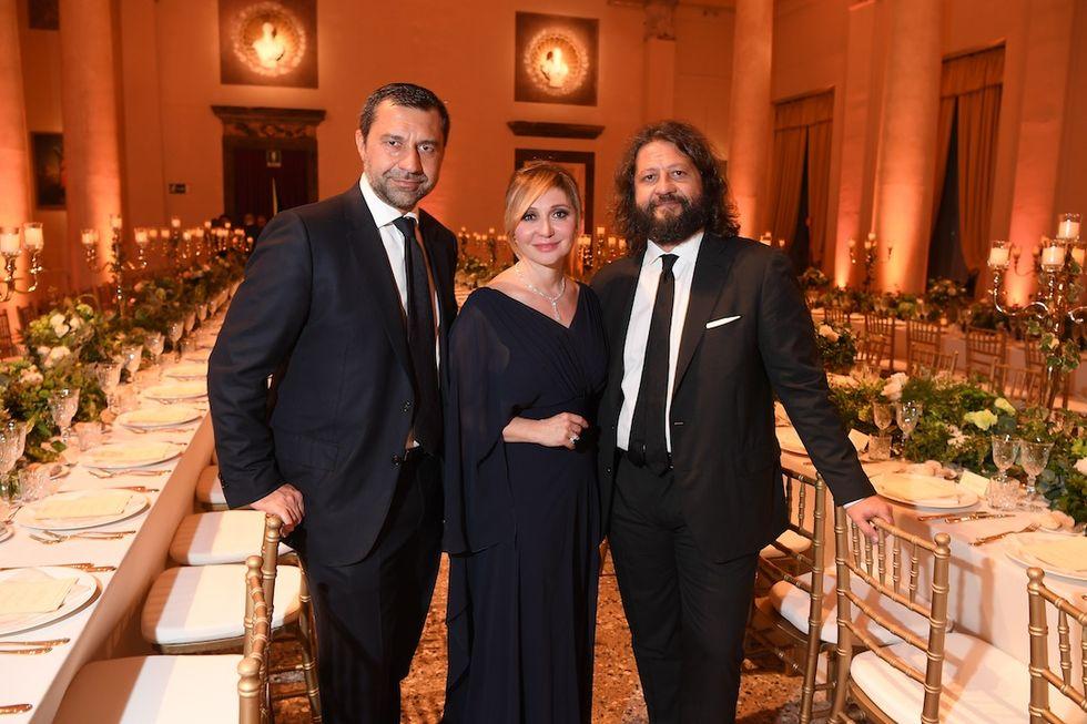 Giorgio, Silvia e Guido Damiani