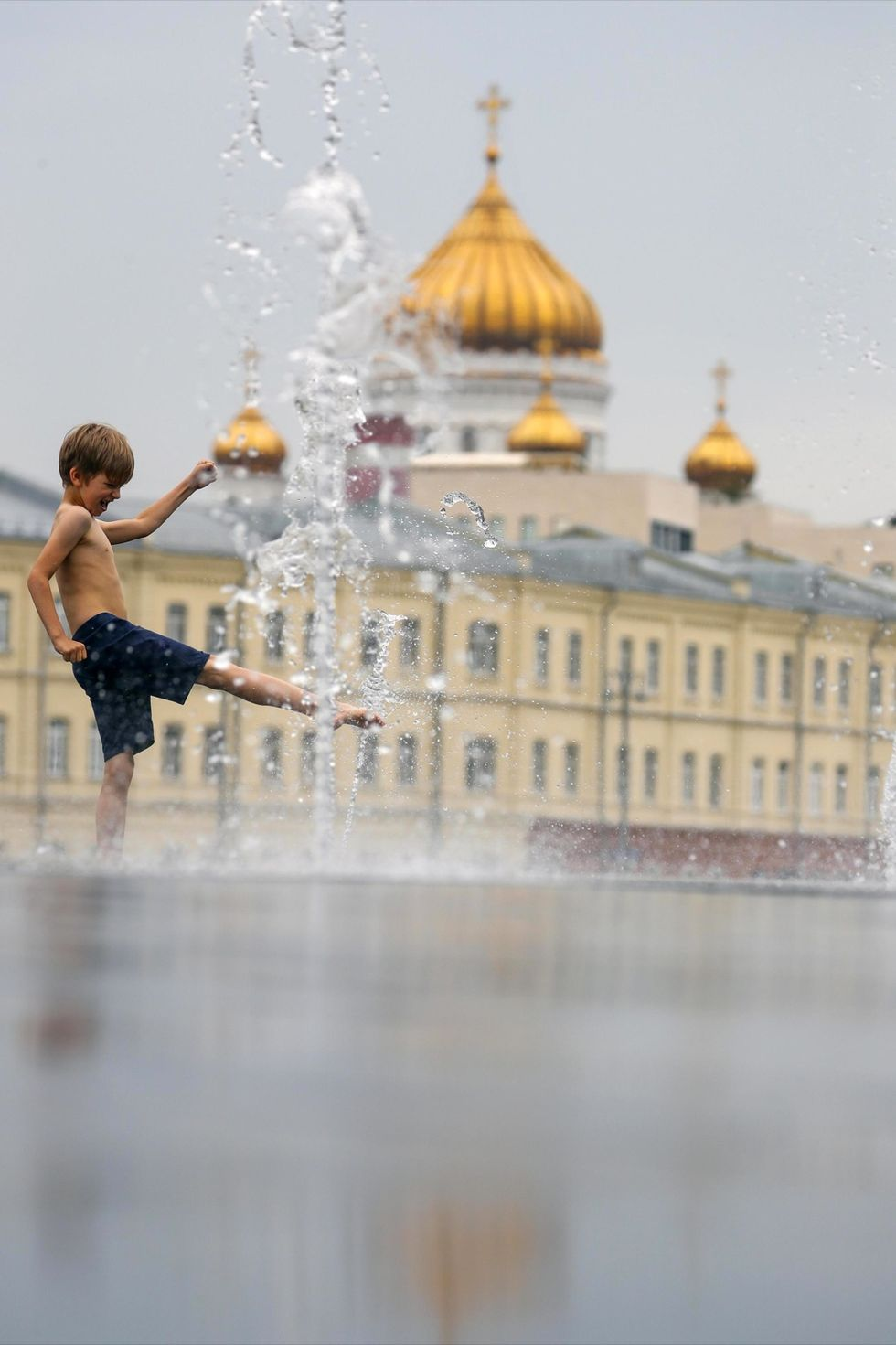 Summer day in Moscow