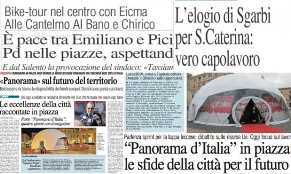Lecce: la rassegna stampa