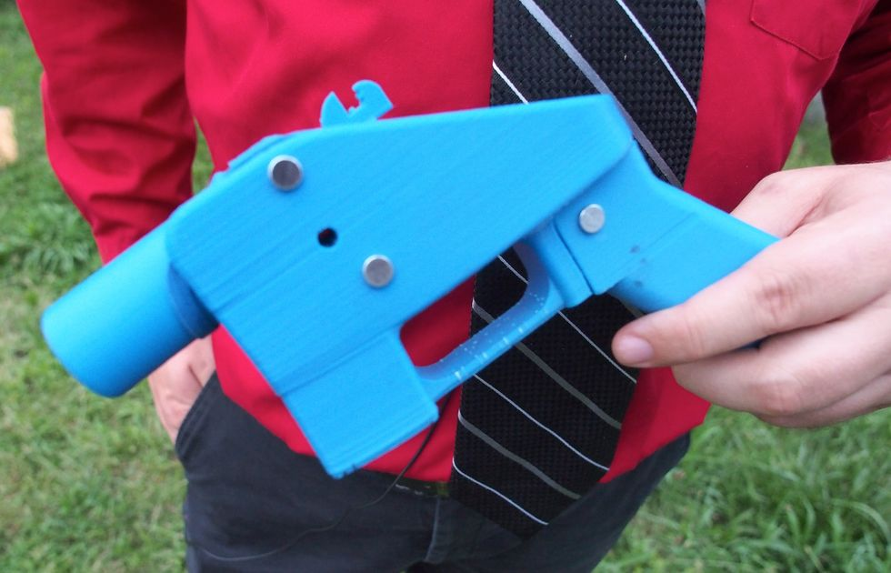 Una pistola stampata in 3 D