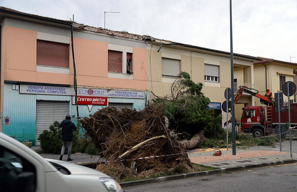 Il Centro Italia devastato dal maltempo