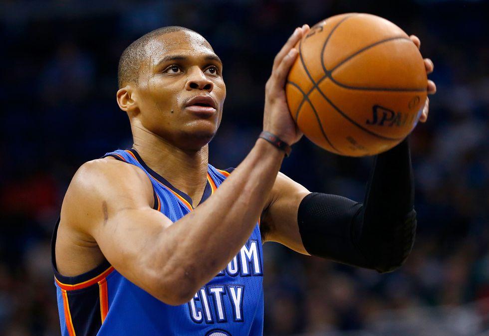 Nba, 49 punti per Westbrook: nuovo massimo in carriera