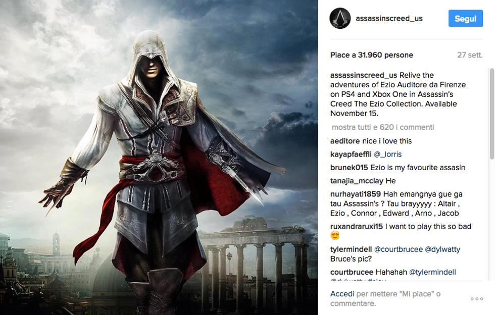 Assassin's Creed, in arrivo la serie tv