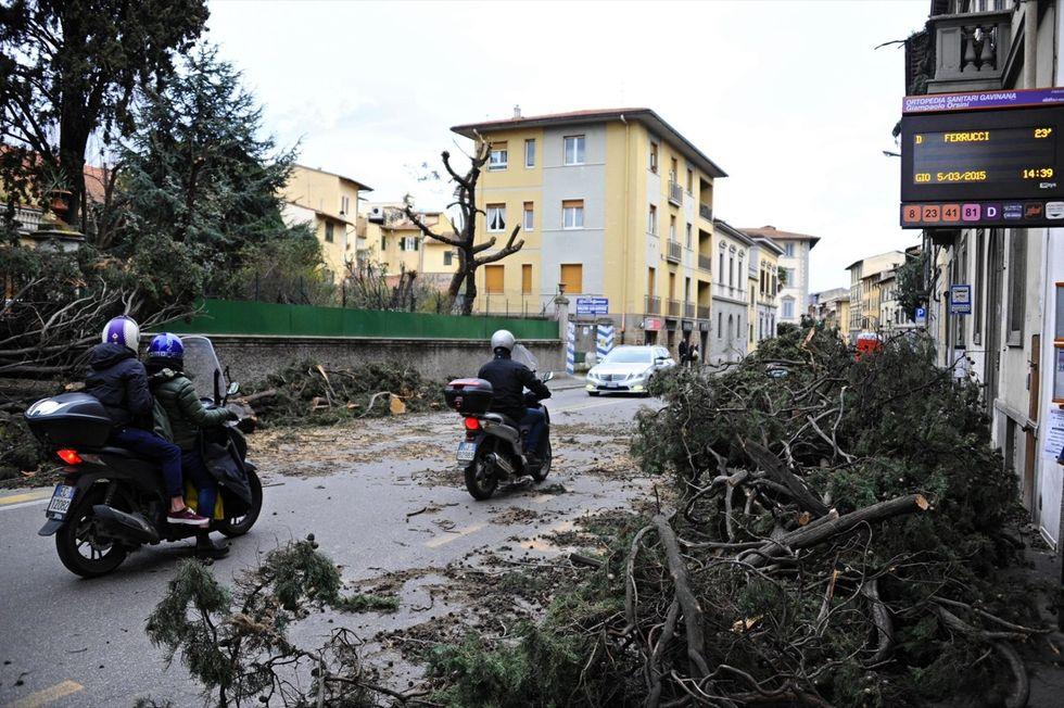 Maltempo in Toscana: a Pisa, massima allerta