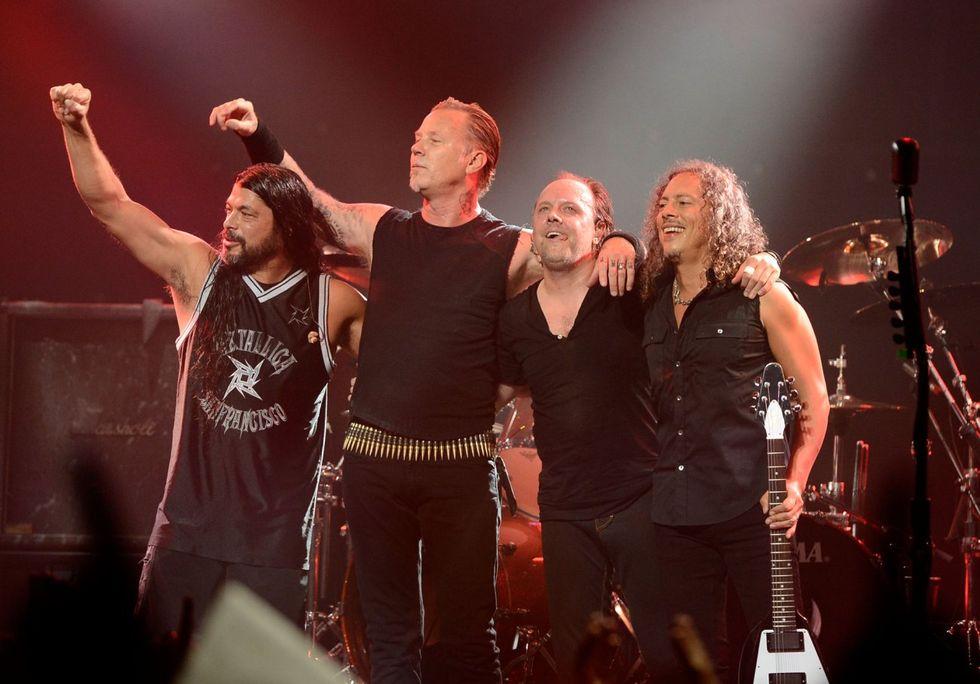 Record Store Day: Metallica testimonial dell'edizione 2016
