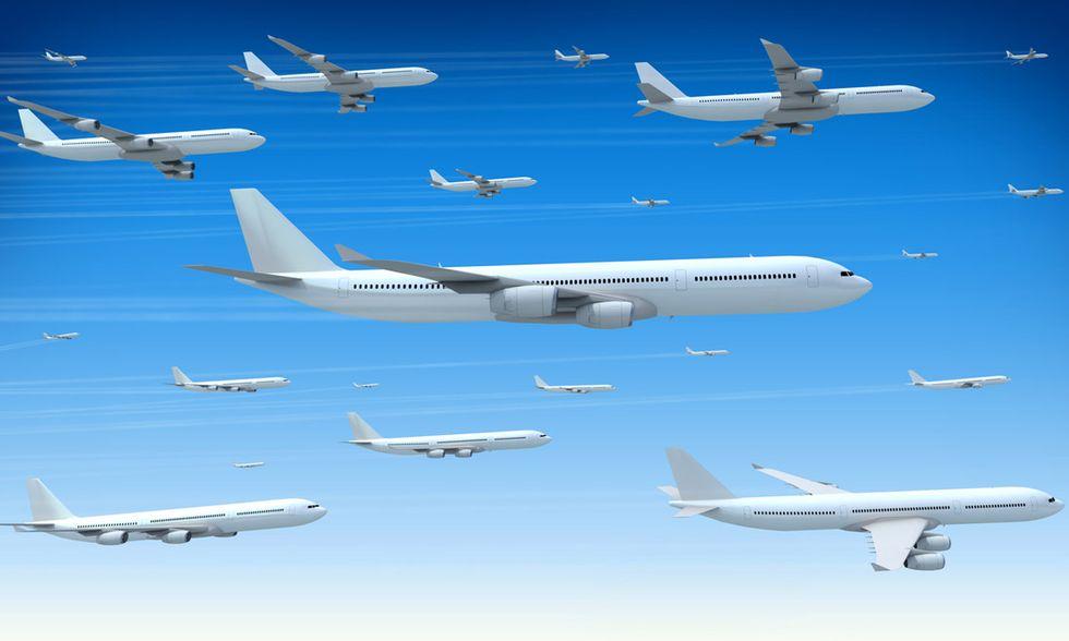 aerei, cielo