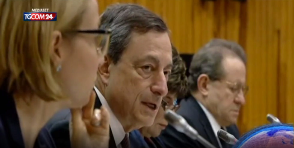 "Scatta il ""quantitative easing"" di Draghi"