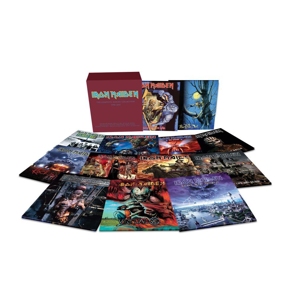 Iron Maiden mania: dodici classic album in vinile