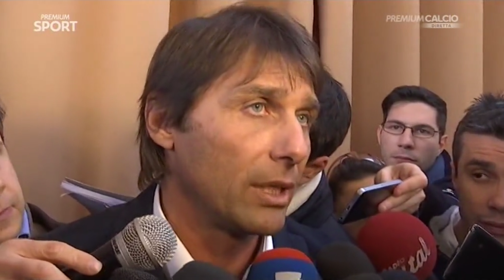"Conte: ""La mia Juventus sarebbe a +20"""