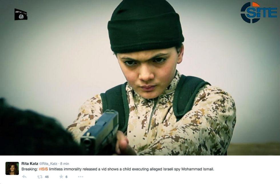Isis: è francese il bambino che spara alla spia del Mossad