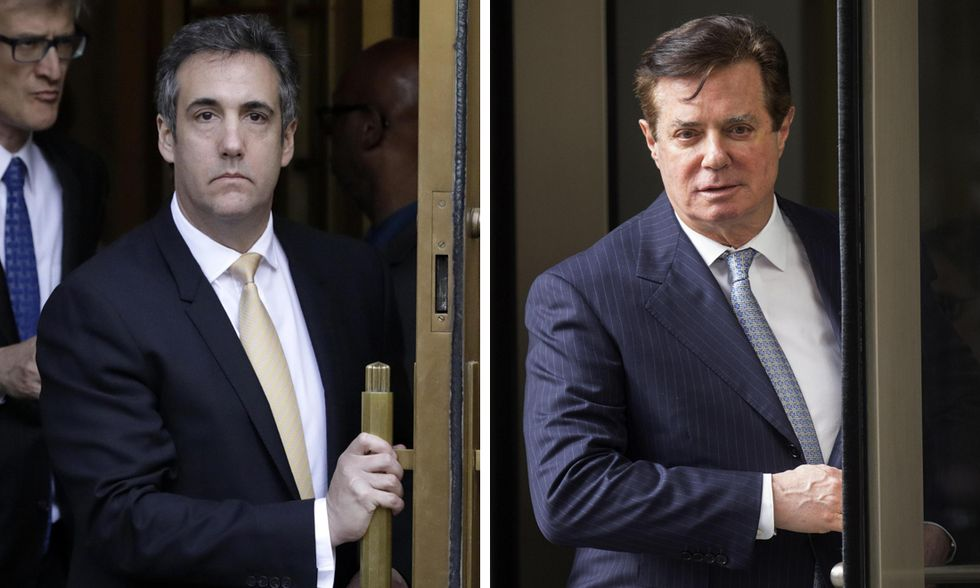 Michael Cohen e Paul Manafort