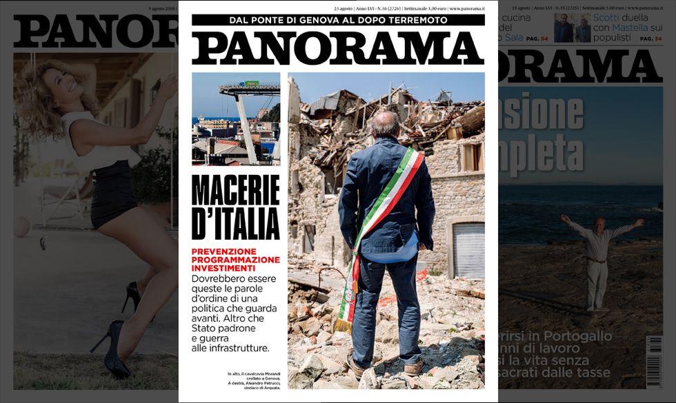 Macerie d'Italia: dal ponte di Genova al dopo terremoto