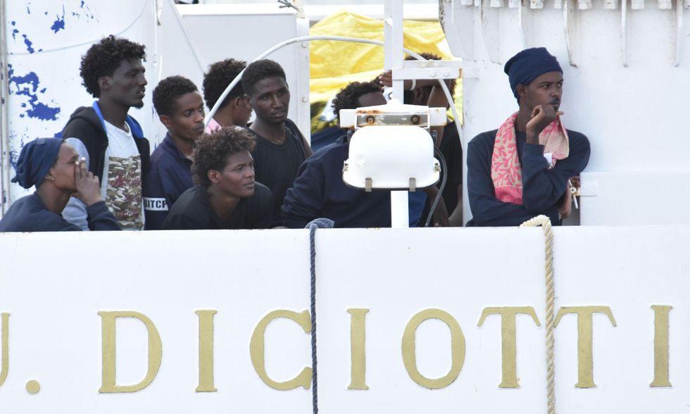 migranti Diciotti