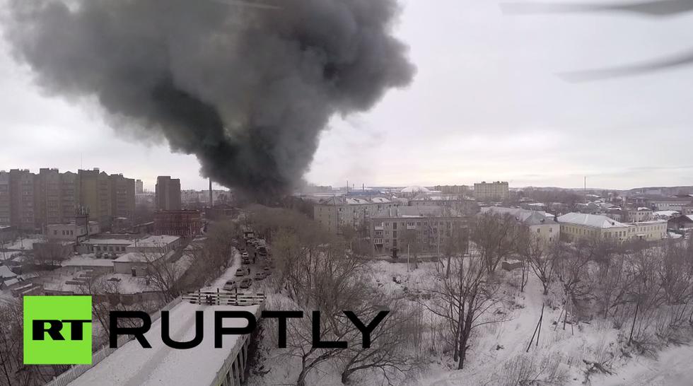 Russia, rogo in un centro commerciale, almeno 5 vittime