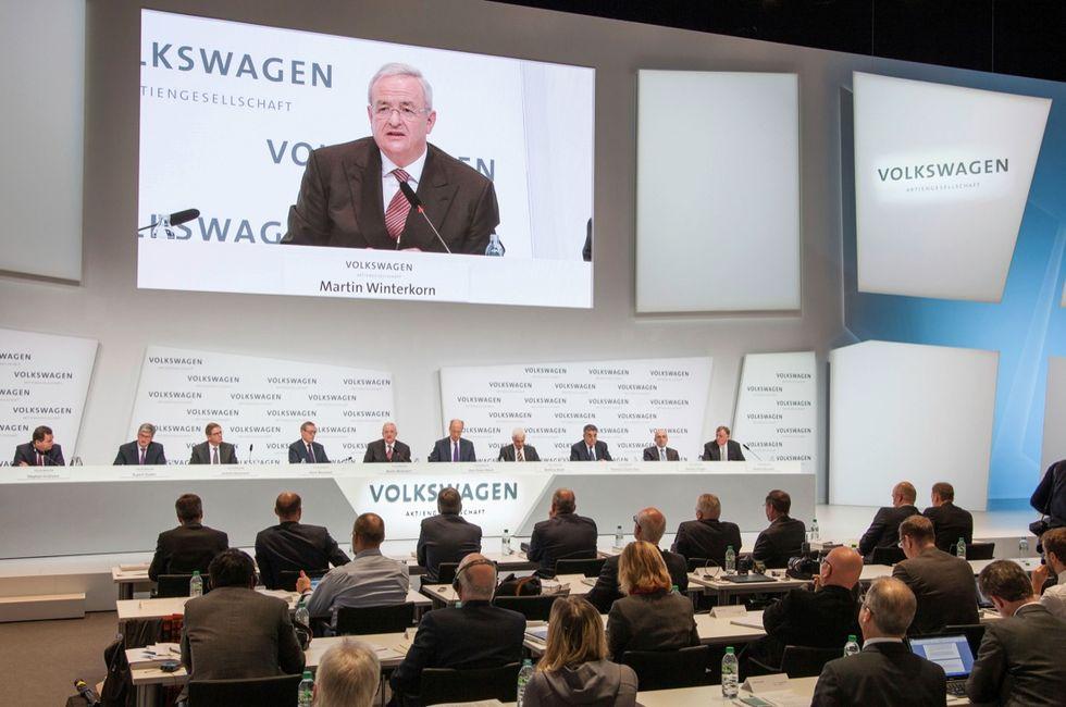 Volkswagen: così si diventa leader