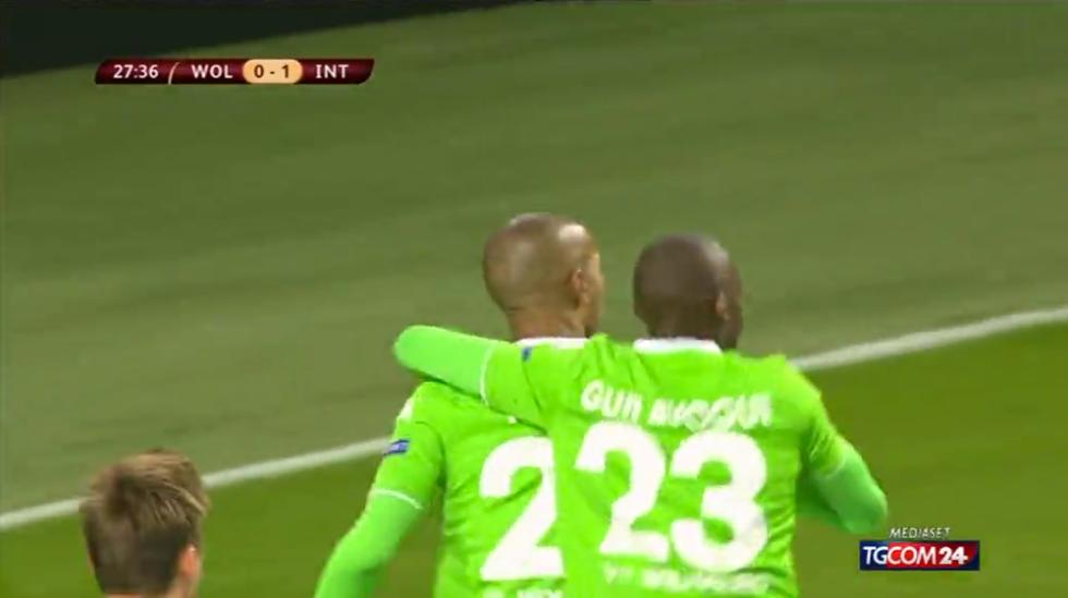 Europa League, Wolfsburg-Inter 3-1: le immagini
