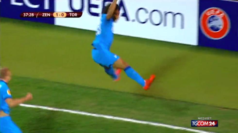Europa League, Zenit-Torino 2-0: le immagini