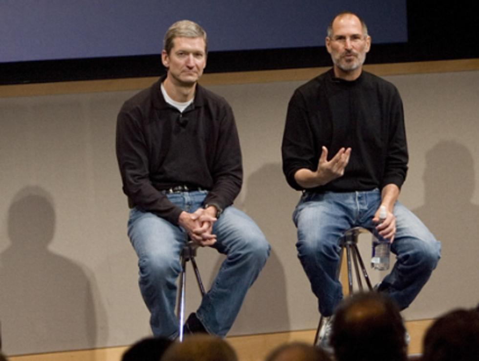 Steve Jobs rifiutò la donazione del fegato di Tim Cook