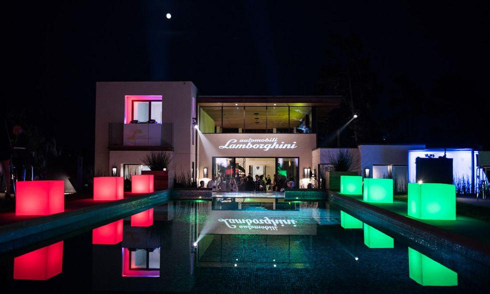Lamborghini Lounge Monterey