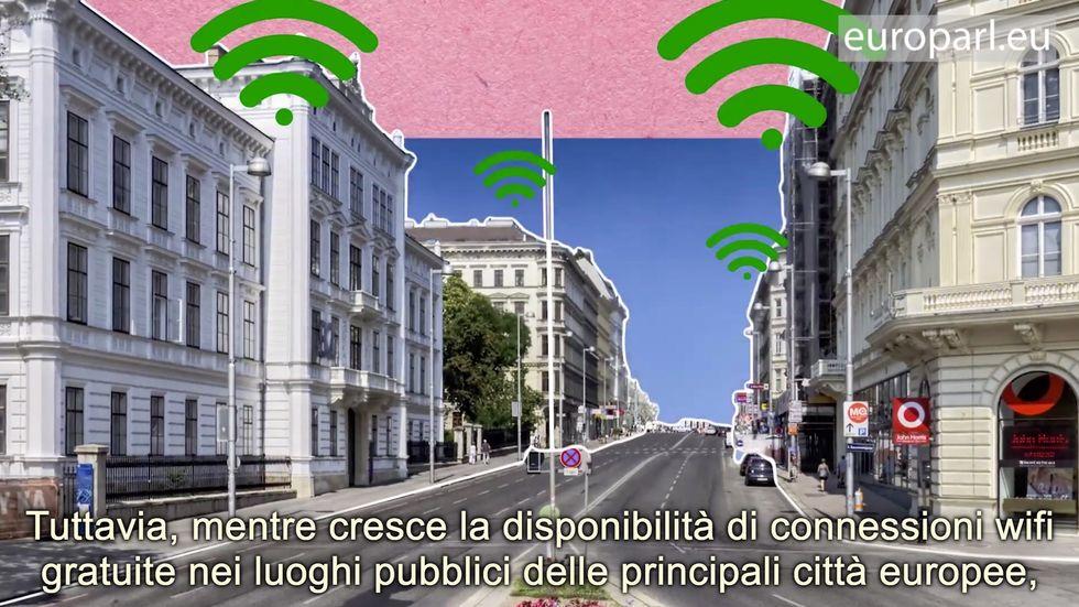 Parlamento Europeo, WiFi per tutti con il progetto WiFi4EU