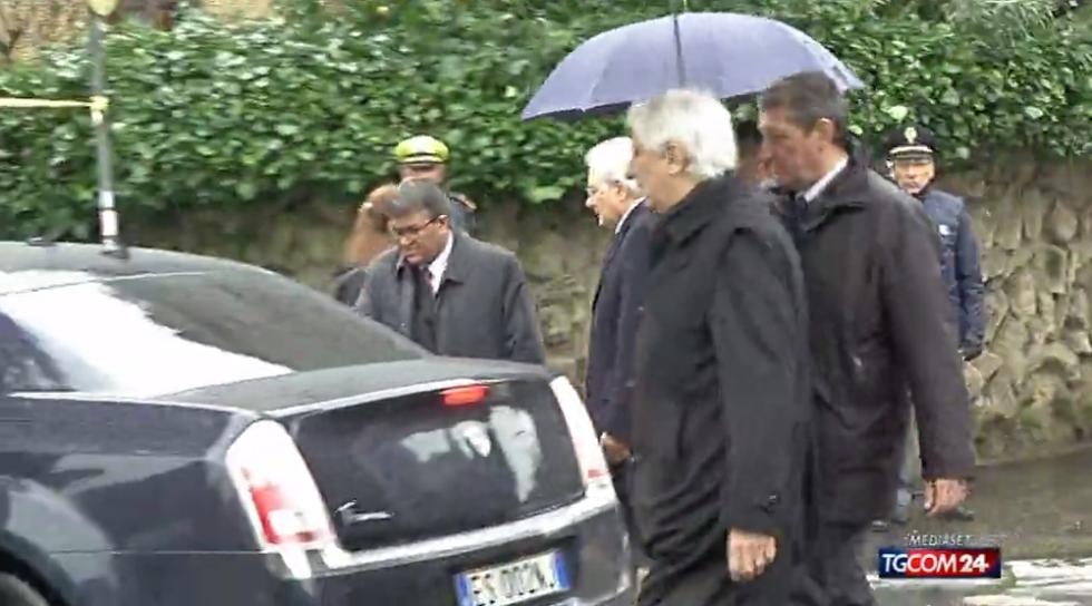 Caso Moro: Mattarella in Via Fani
