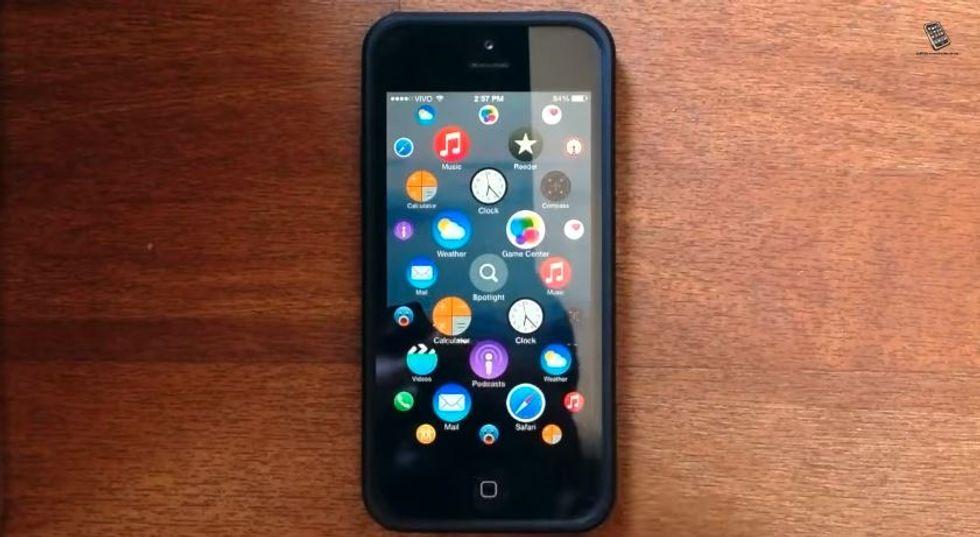 L'interfaccia dell'Apple Watch arriva su iPhone