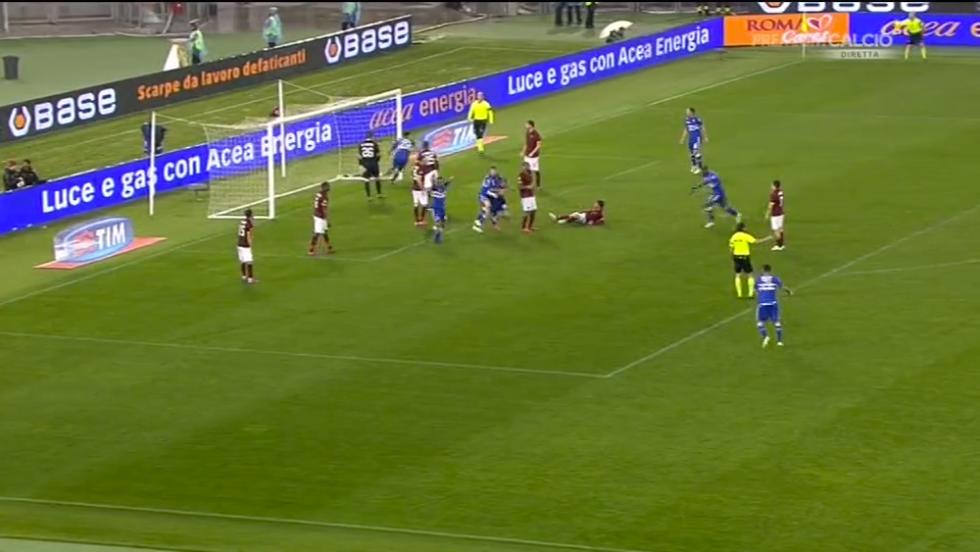Serie A, Roma-Sampdoria 0-2: le immagini