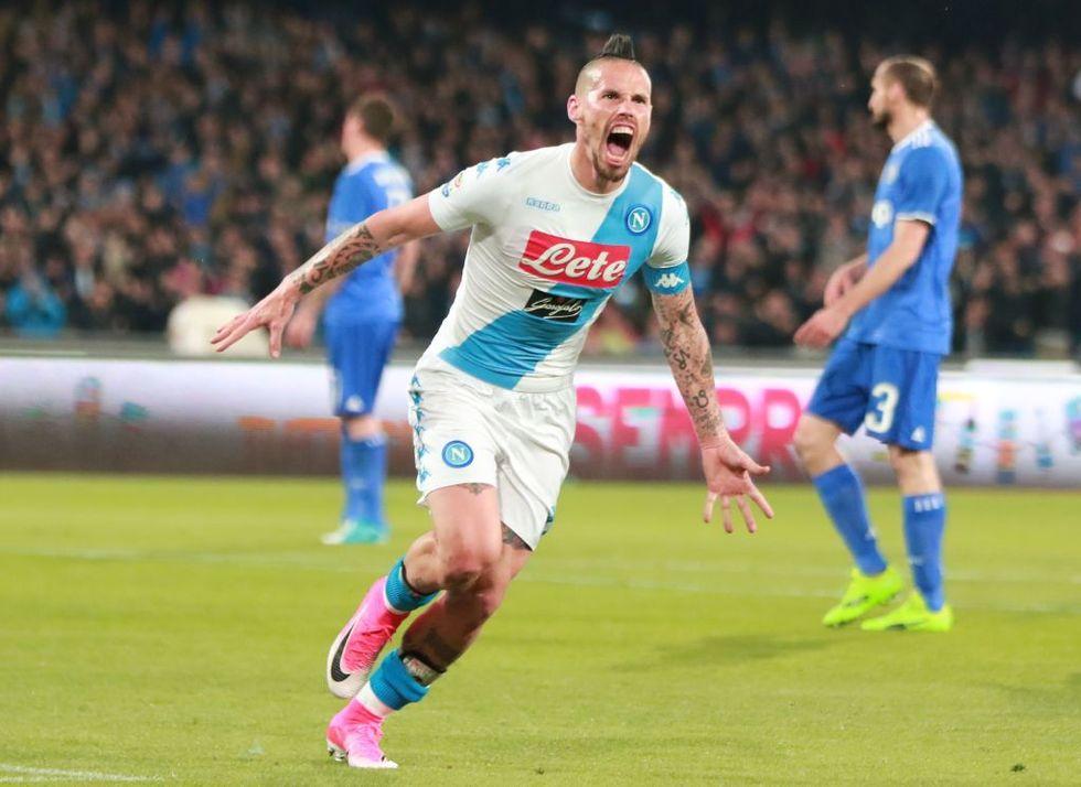 Napoli-Juventus 1-1: Hamsik trascinatore, Allegri più vicino allo scudetto