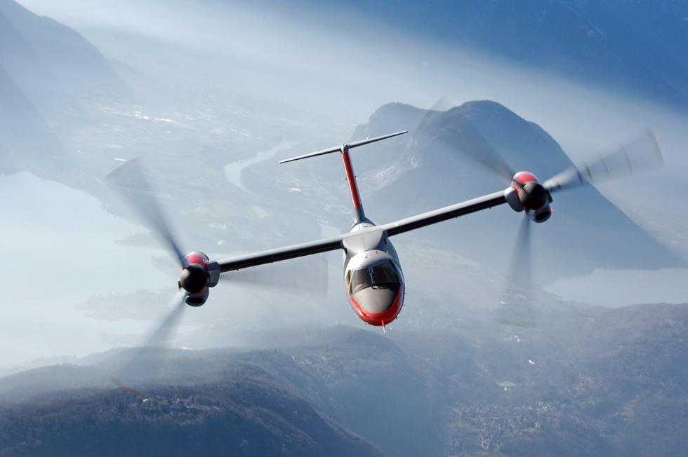 L'elicottero che si trasforma in aereo