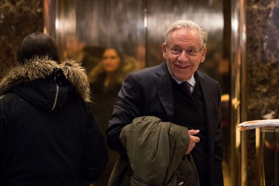Bob Woodward, una delle due penne che ha firmato - tra le altre - l'inchiesta denominata Watergat