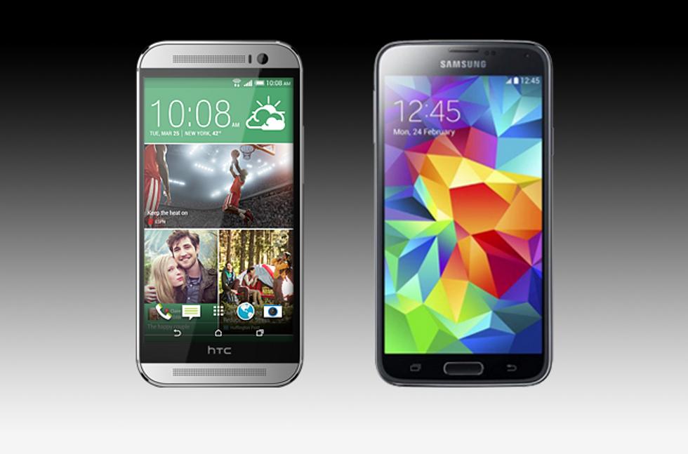HTC One M8 vs Samsung Galaxy S5: chi è il migliore?