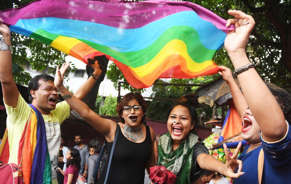 La comunità LGBT festeggia in India la cancellazione del reato di omosessualità dal codice penale