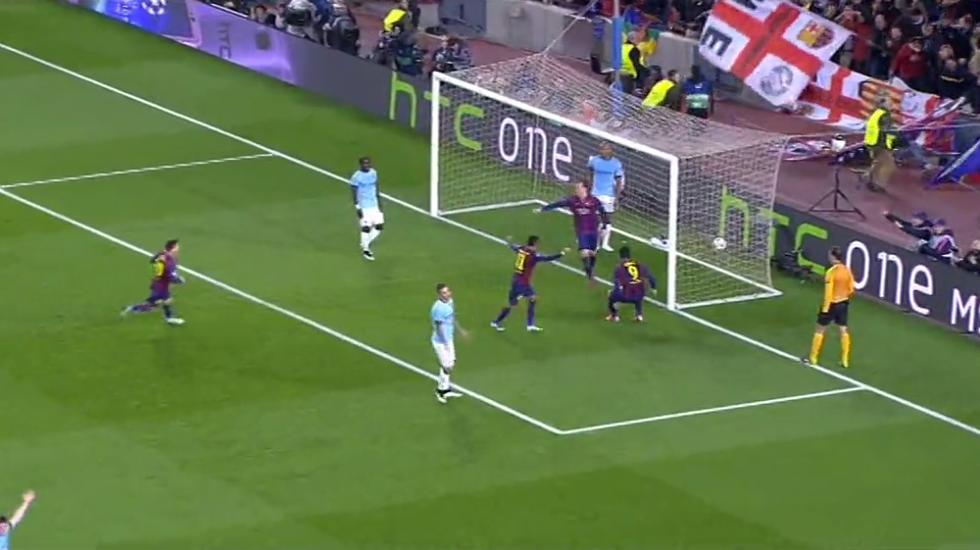 Ch. League, Barcellona-Man. City 1-0: le immagini