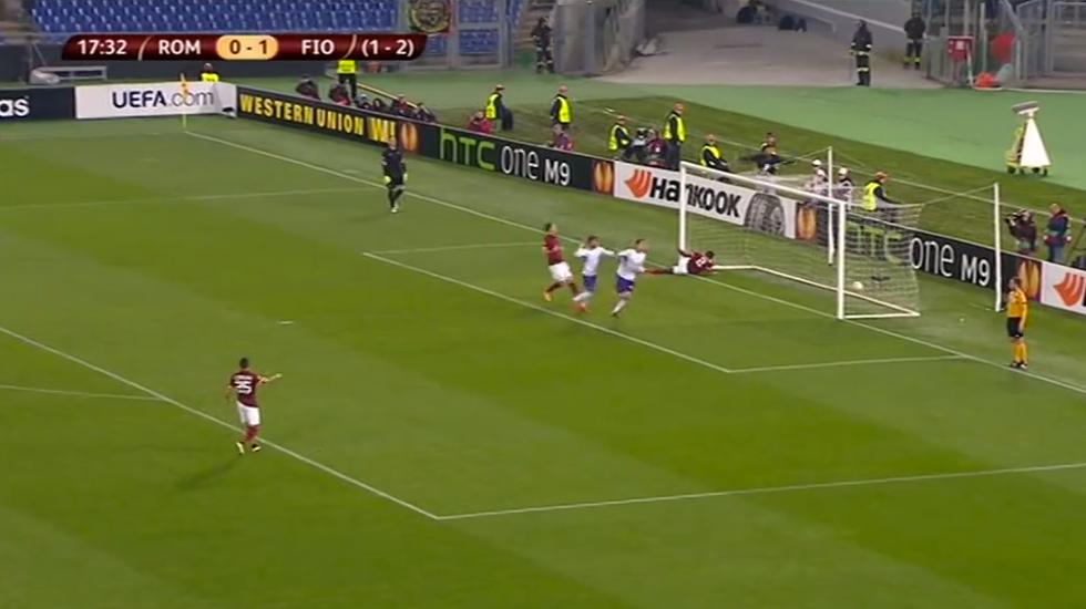 E. League, Roma-Fiorentina 0-3: le immagini