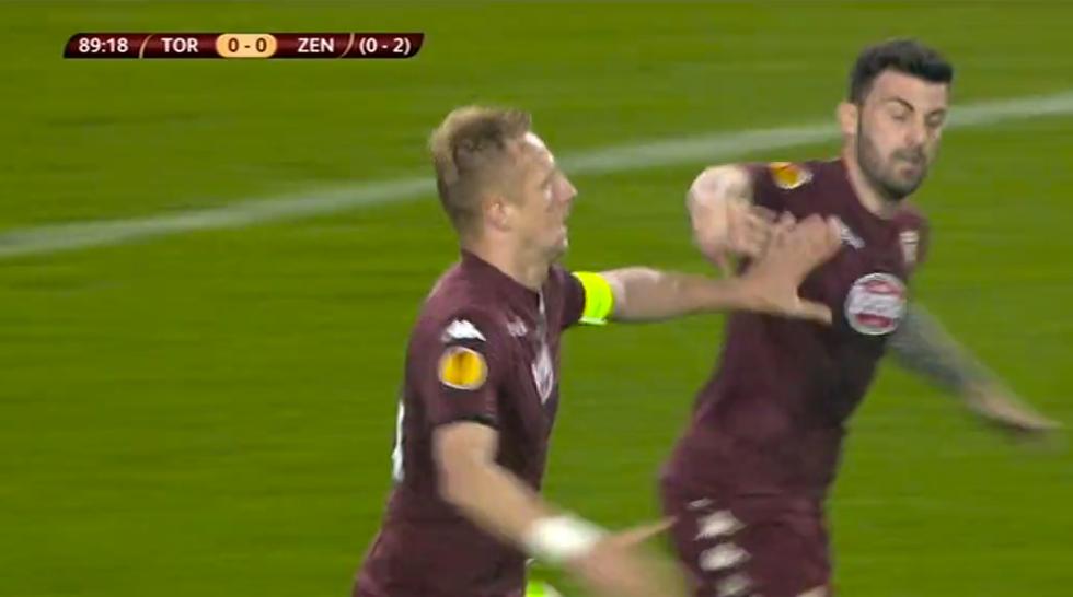 E. League, Torino-Zenit 1-0: le immagini