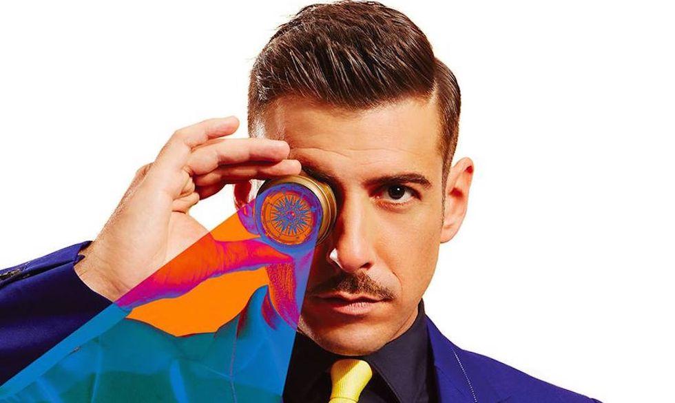 """Un particolare della cover di """"Magellano"""", il nuovo album di Francesco Gabbani"""