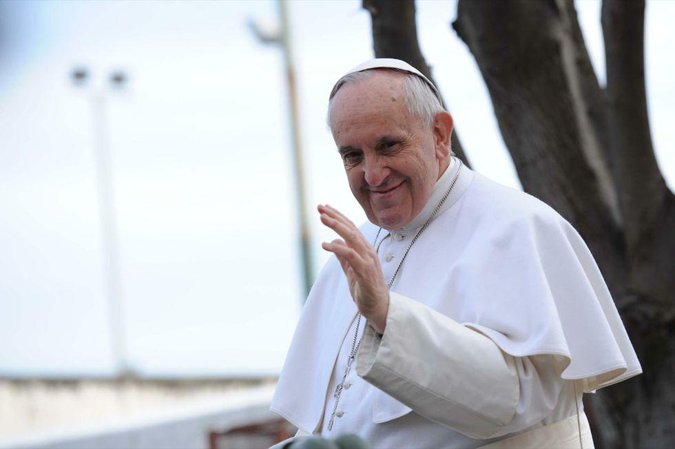 """Papa Francesco a Napoli: """"la corruzione puzza""""! - LE FOTO"""