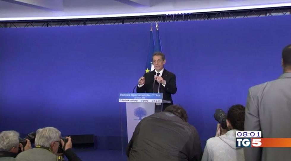 Elezioni Francia: Sarkozy frena Marine Le Pen