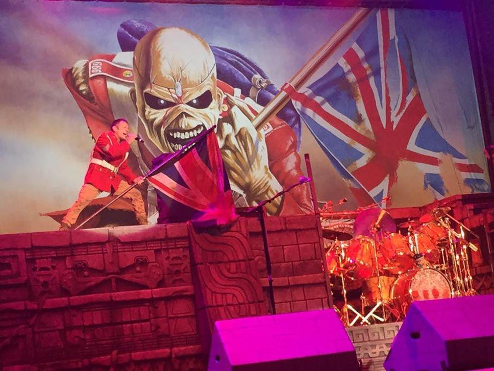 Iron Maiden: trionfo a Roma - Recensione, scaletta e video