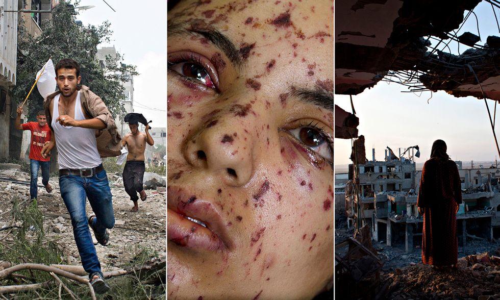 Heidi Levine a Gaza, premio al coraggio nel fotogiornalismo