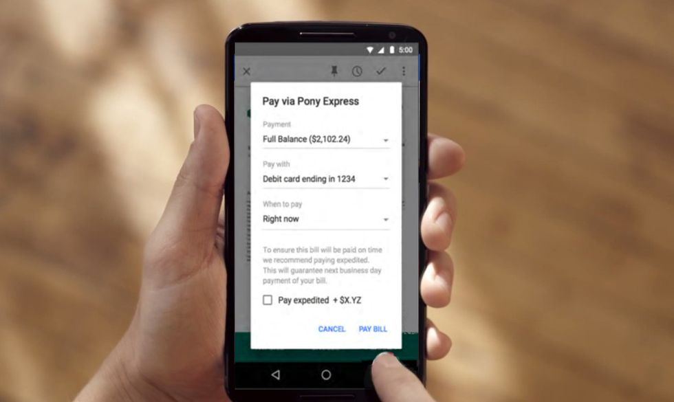 Google ti farà pagare le bollette da Gmail
