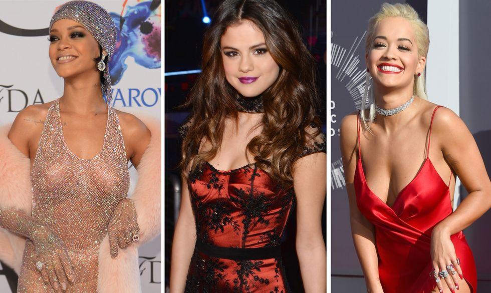 Le pop star più bollenti