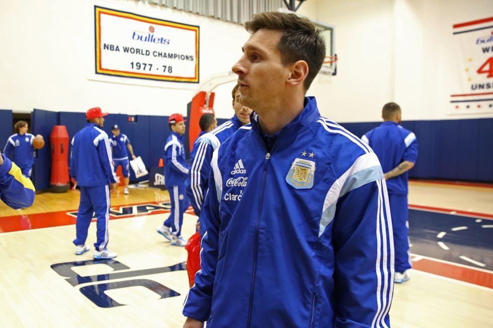 Messi e l'Argentina nel pianeta Nba